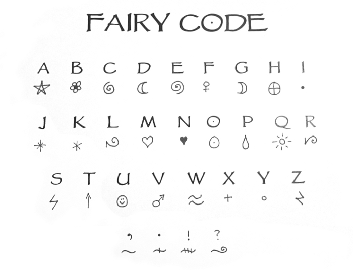 Code For Letters Of The Alphabet.The Halloween Adventure J L Hilton